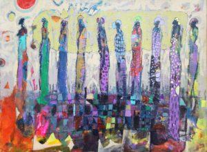 Hussein Salim - Untitled, 43 x 30cm