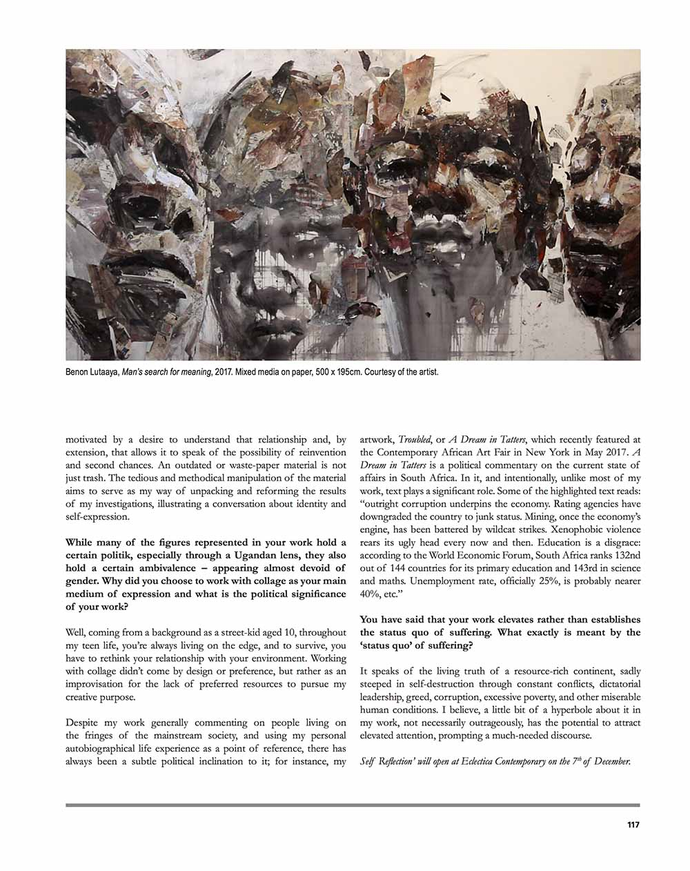 Benon Lutaaya feature pg 1