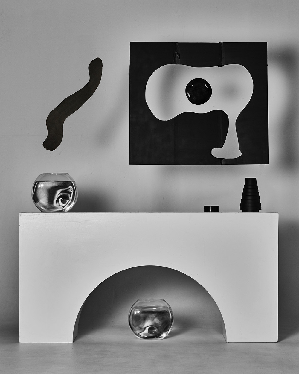 Kyu Sang Lee Ein kleines Nachtfoto No.1 2018 Hahnehmuhle Baryta 12 x 15 cm