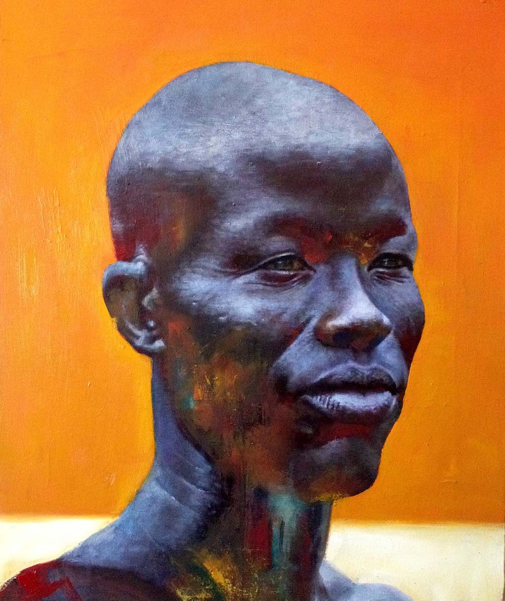 Loyiso Mkize Everlasting 2018 Oil on canvas 60 x 80 cm