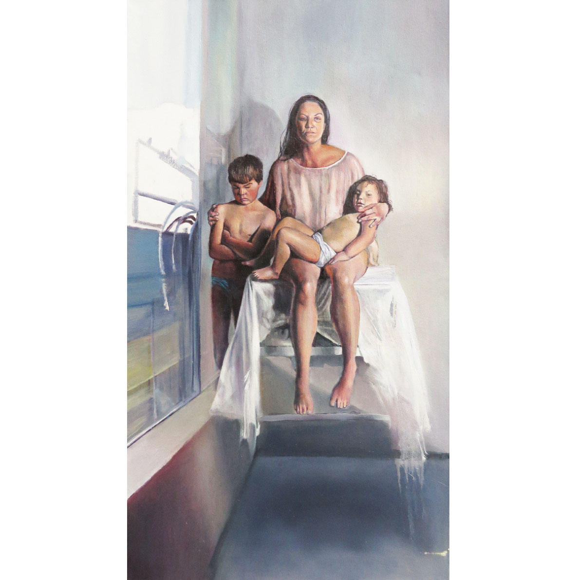 Christa Myburgh Sunday, Monday, Someday and always 201? Oil on canvas 170 x 170 cm