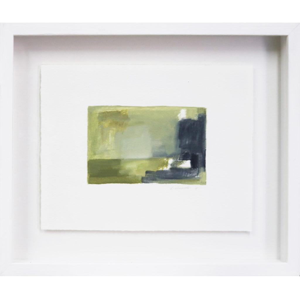 Danielle Zelna Alexander Emerald City Dreaming(series) 2018 Oil on canvas 41 x 41cm