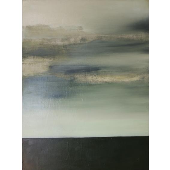Danielle Zelna Alexander Between Peripheries, between Perspectives, 2017 Oil on Canvas 101.5 x 76cm
