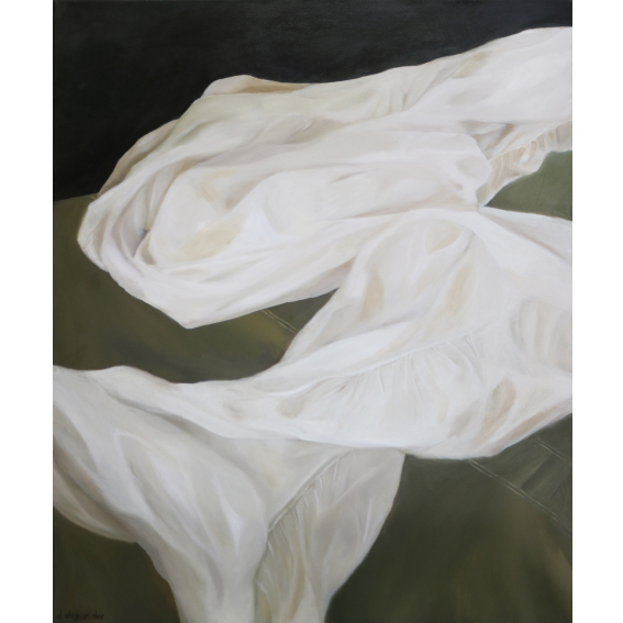 Danielle Zelna Alexander, Refuge, 2018 Oil on canvas 76 x 91cm