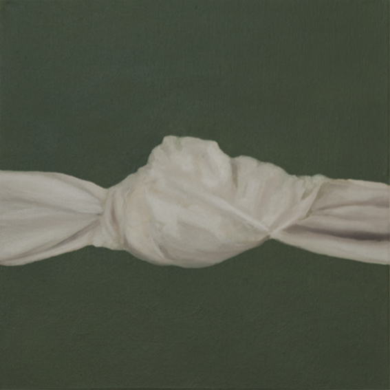 Danielle Zelna Alexander Restrained (Knot), 2017 Oil on canvas 31 x 31 cm