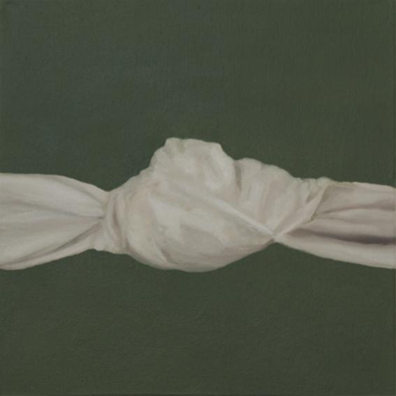 Danielle Zelna Alexander Restrained (Knot), 2017 Oil on canvas 31 x 31 cm