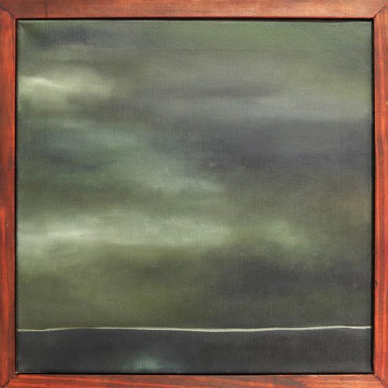 Danielle Zelna Alexander Yellow Brick Road, 2017 Oil on canvas 41 x 41cm