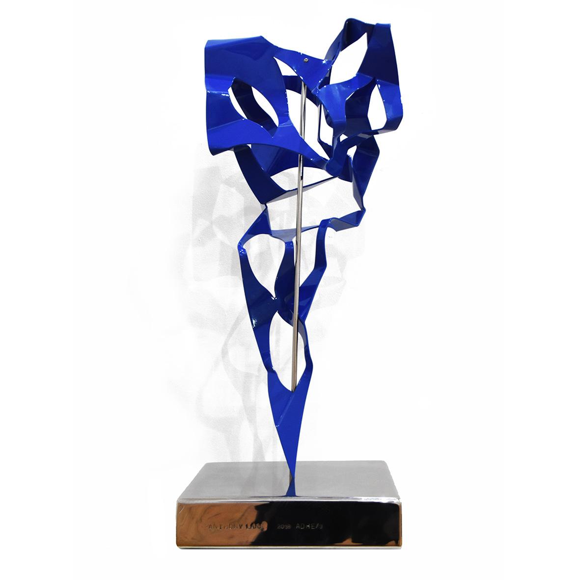 Anthony Lane, 2018, Mixed Media sculpture ( ADHE 3 ), 30 x 30 x 86 cm