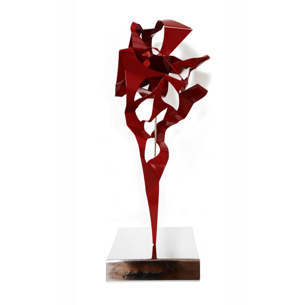 Anthony Lane, ADHE 7, 2018, mixed media sculpture, 49 x 30 x 102 cm