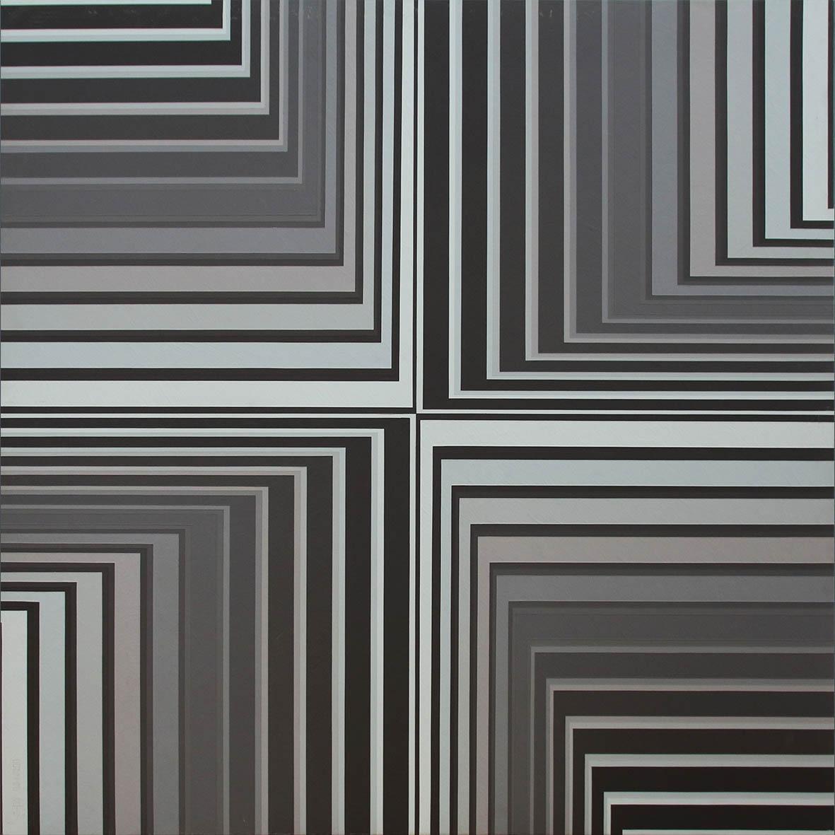Albert Coertse Elsewhere 2016 Oil on MDF/Board 110 x 110 cm