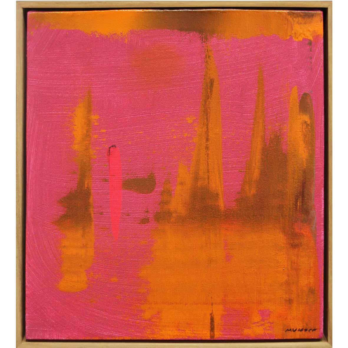 Mary Visser Kaleo 2018 acrylic on canvas 34 x 30 cm
