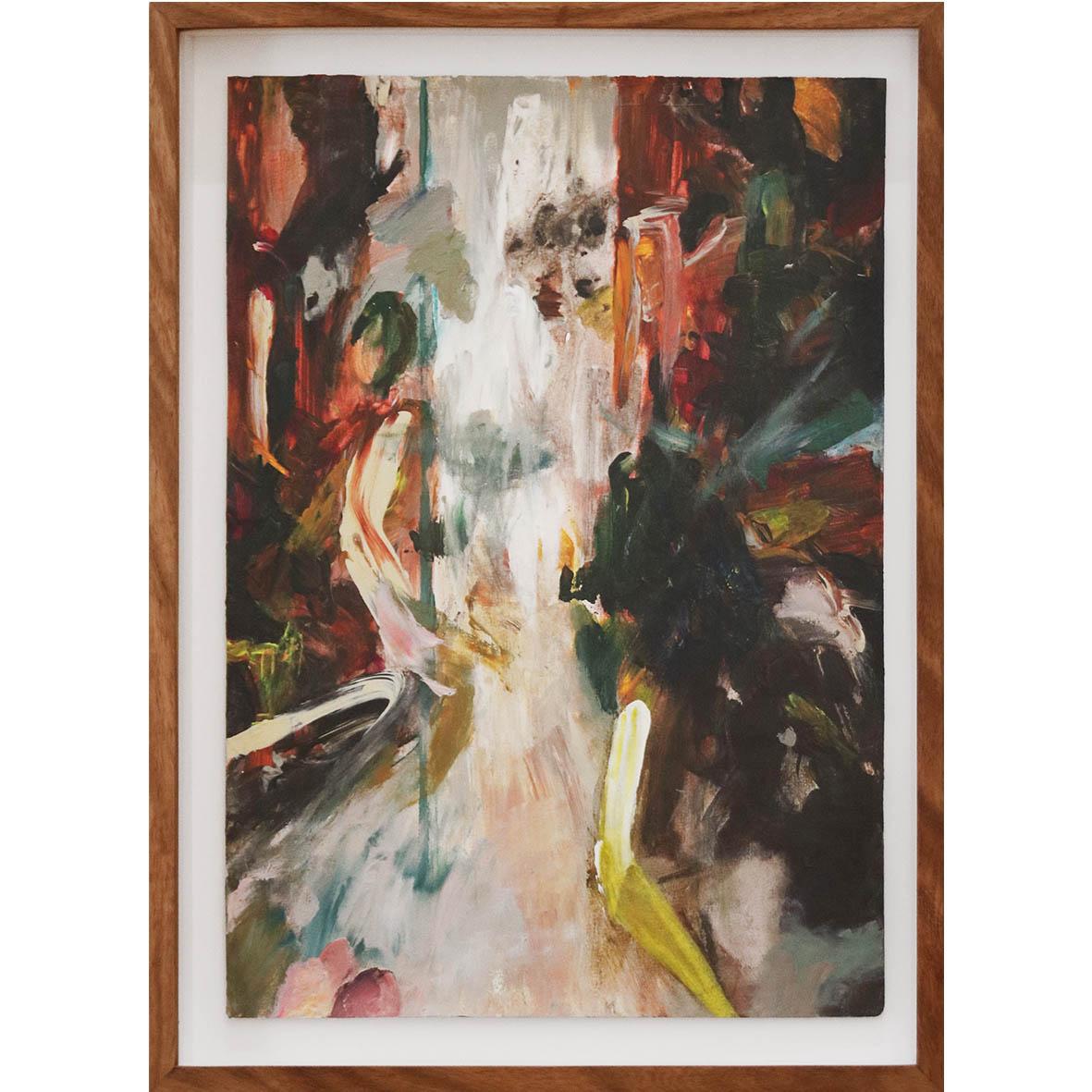 Nina Holmes New Promises 2019 Acrylic on paper 47 x 35 cm