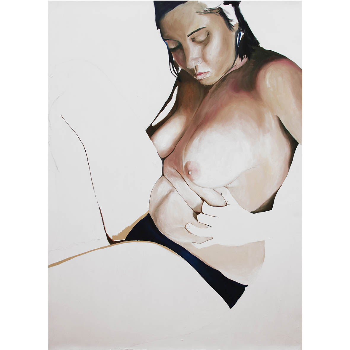 Novisha Steyn Tayla 2017 oil on Canvas 150 x 120 cm