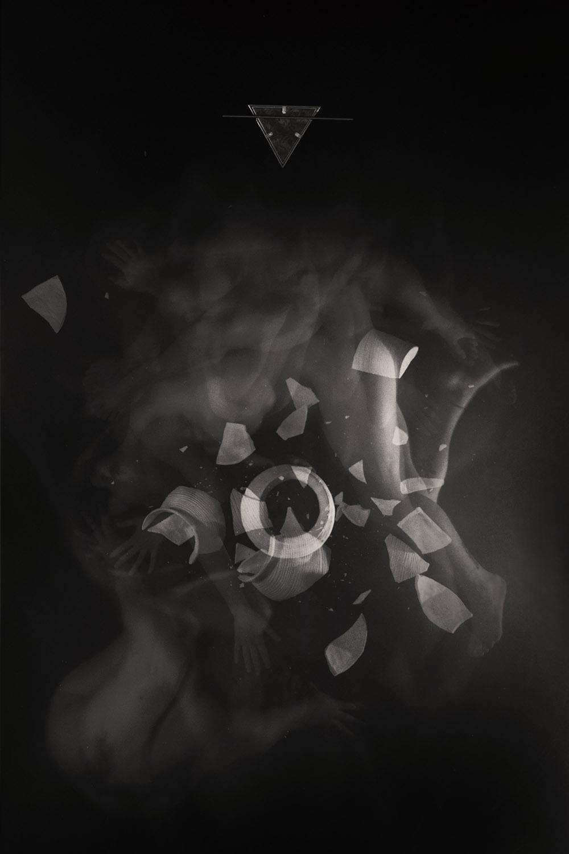 Carla Janse van Rensburg Untitled (10 minute exposure of Earth Vase Ritual) 2018 digital photograph archival ink on Hahnemuhle, 1of20 35.5 x 24.2 cm