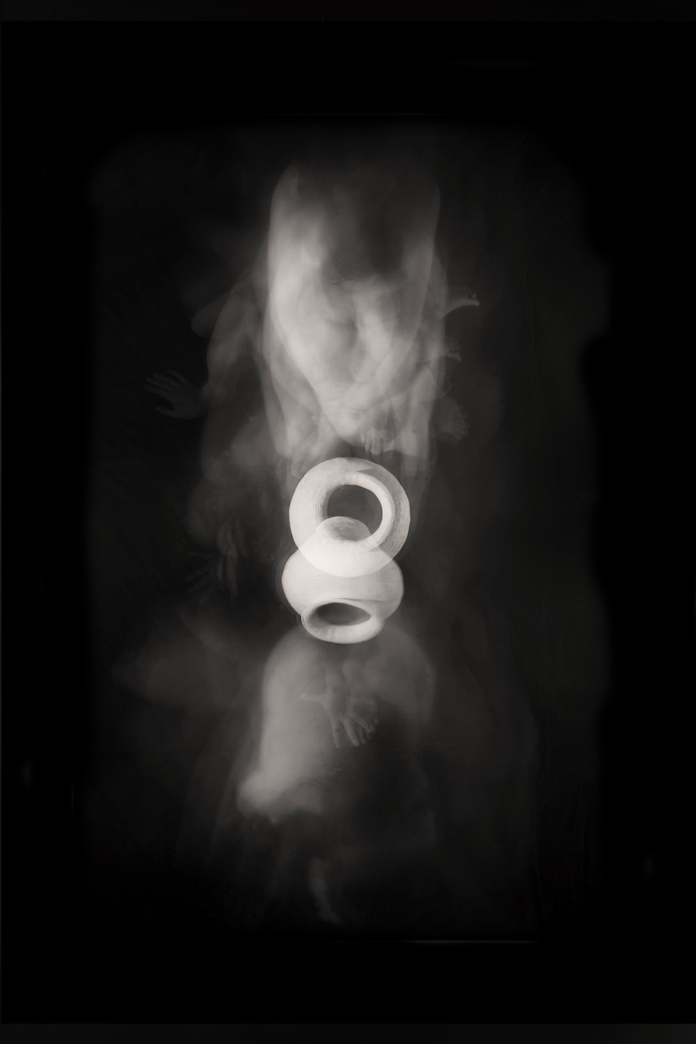 Carla Janse van Rensburg Untitled (10 minute exposure of Fire Vase Consecration Ritual) 2018 digital photograph archival ink on Hahnemuhle, 1of20 35.5 x 24.2 cm