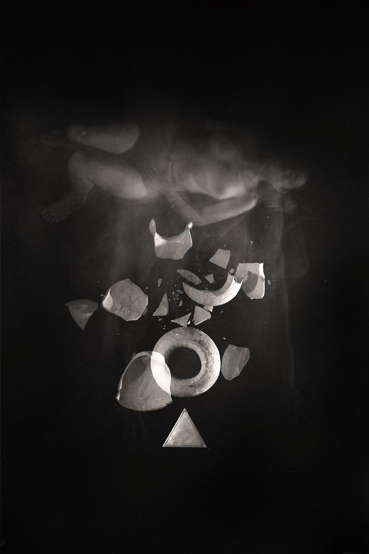 Carla Janse van Rensburg Untitled (10 minute exposure of Fire Vase Ritual) 2018 digital photograph archival ink on Hahnemuhle, 1of20 35.5 x 24.2 cm