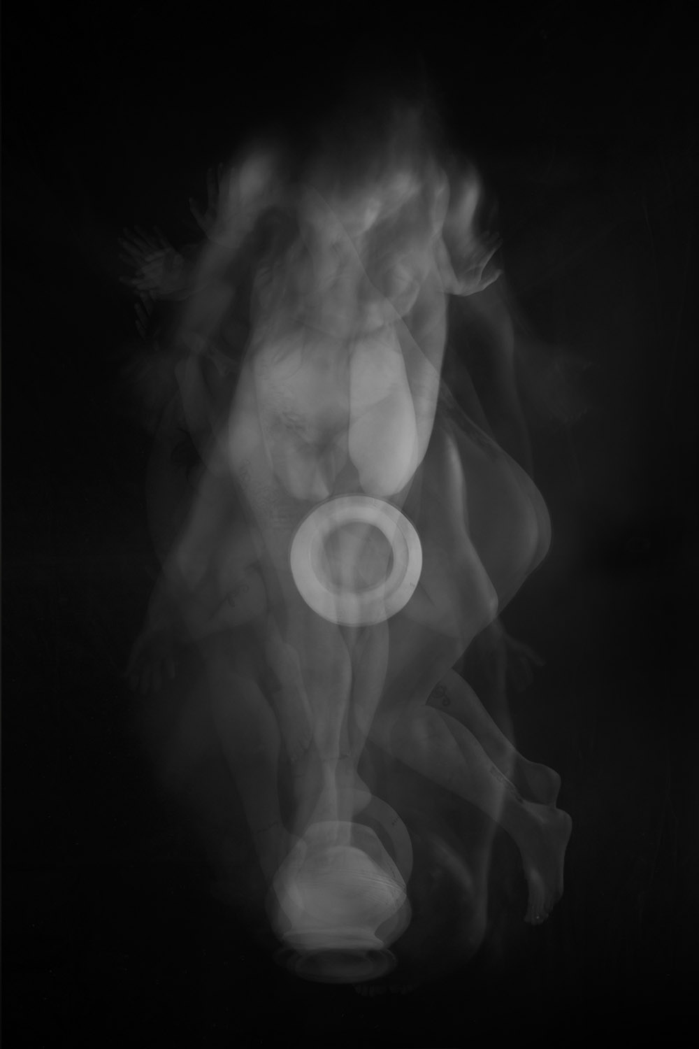 Carla Janse van Rensburg Untitled (10 minute exposure of Protection Vase Consecration Ritual 1) 2018 digital photograph archival ink on Hahnemuhle, 1of20 35.5 x 24.2 cm