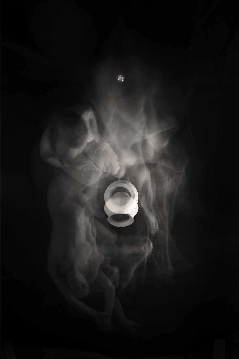 Carla Janse van Rensburg Untitled (10 minute exposure of Protection Vase Consecration Ritual 2) 2018 digital photograph archival ink on Hahnemuhle, 1of20 35.5 x 24.2 cm