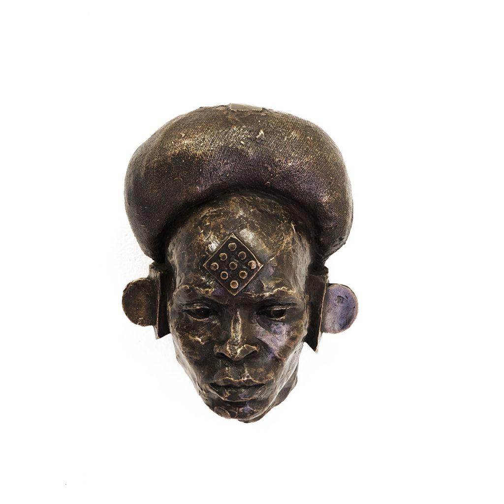 Cobus Haupt Langa 2020 Bronze 15 x 20 x 12 cm