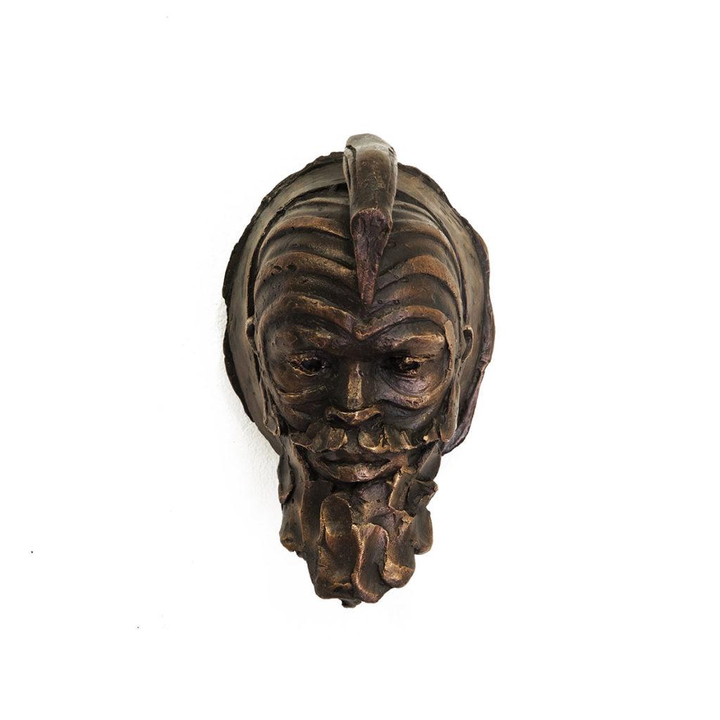 Cobus Haupt Moyses 2020 Bronze 14 x 21 x 14 cm