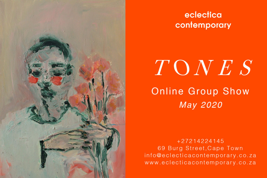 Tones- May Online Group Show Banner