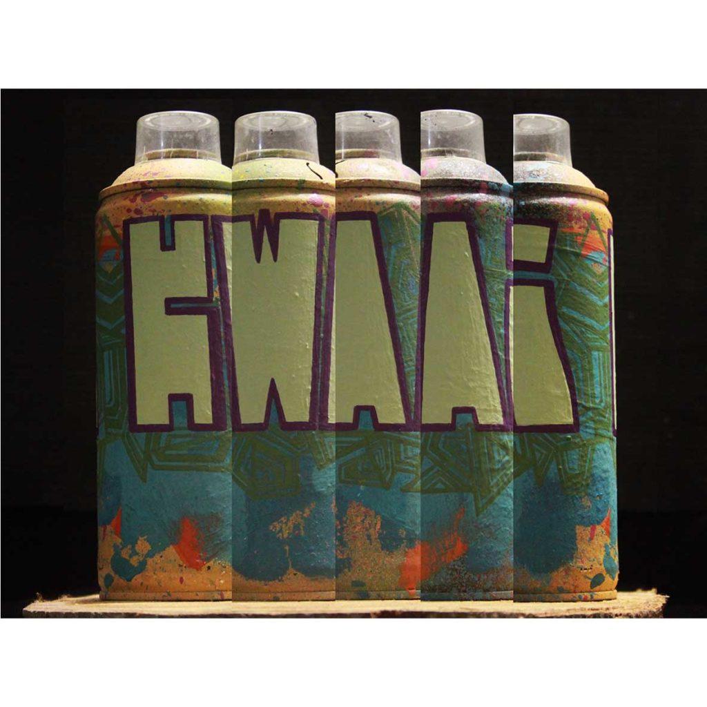 Graffiti Can 1 2020 Aerosol & acrylic paint on aerosol can