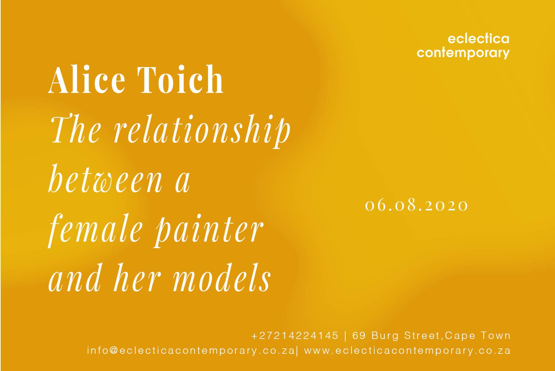 Alice Toich | Eclectica Contemporary | Art Exhibition | Cape Town
