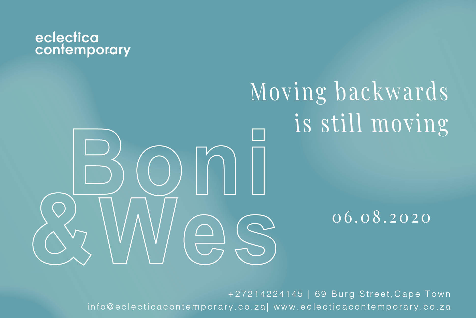 Boni and Wes | Eclectica Contemporary | Art Exhibition | Cape Town