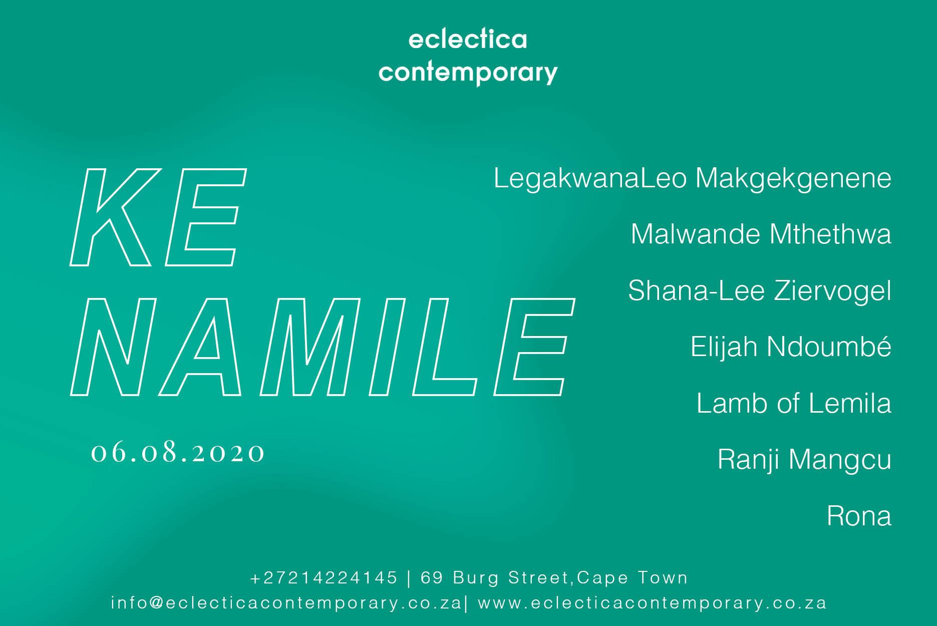 Ke Namile | Eclectica Contemporary | Art Exhibition | Cape Town