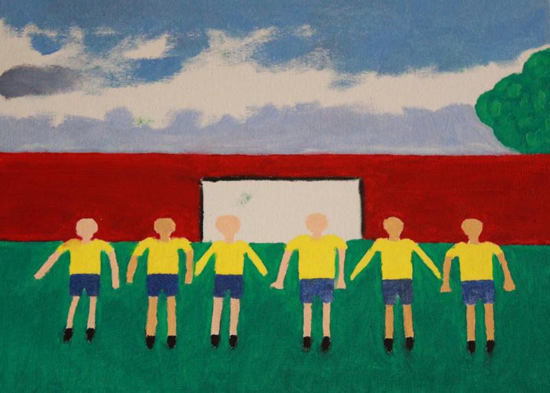 Kagiso Reuben | Youth League | Eclectica contemporary | Art gallery | Cape Town