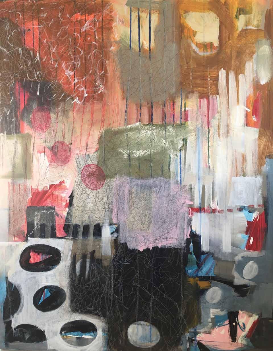Georgia Lane | Set Fire To The Rain | Eclectica Contemporary | Art Gallery | Cape Town