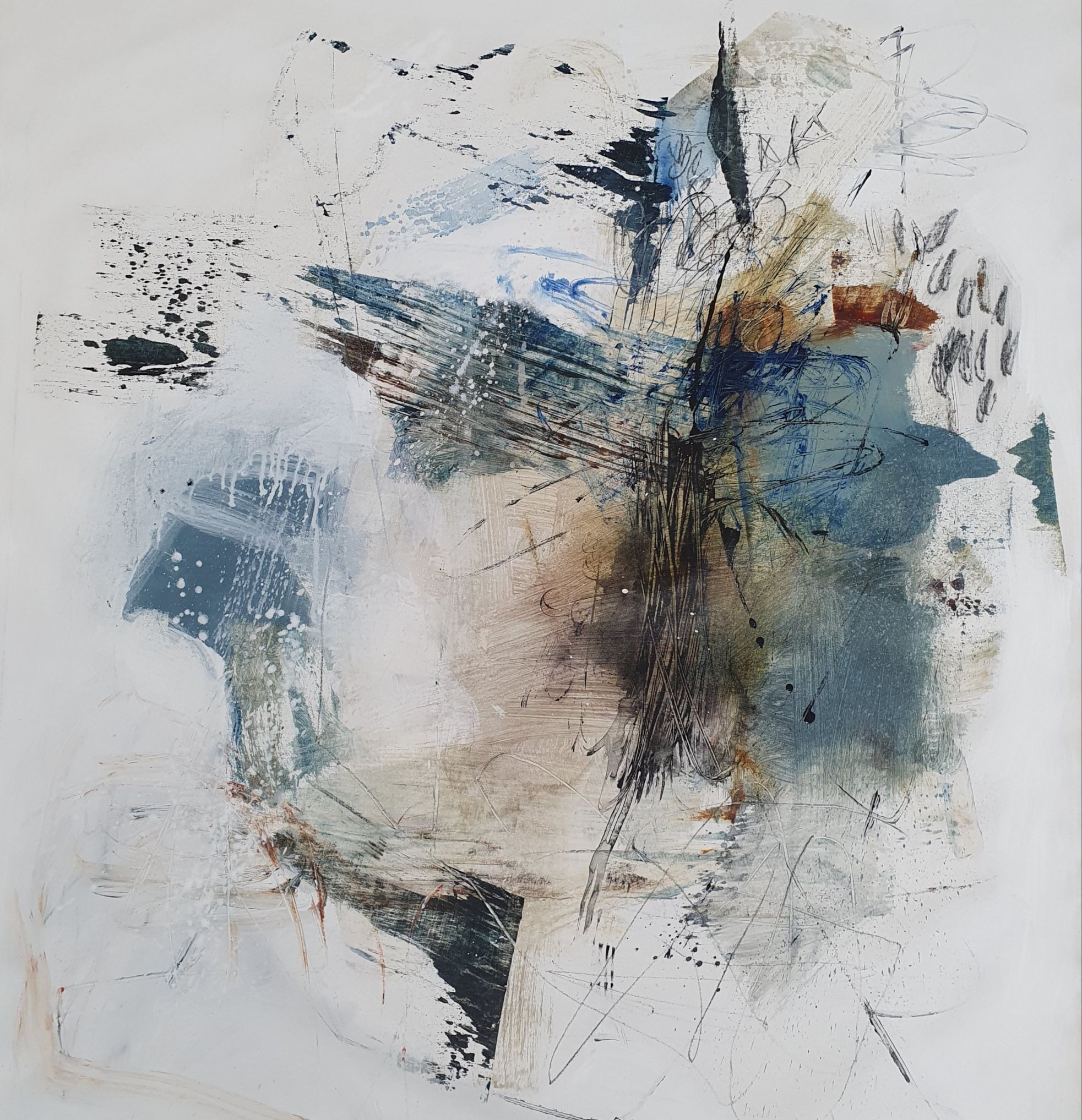 Natasha Barnes | Untidy Bouquet | Eclectica Contemporary | Art Gallery | Cape Town|