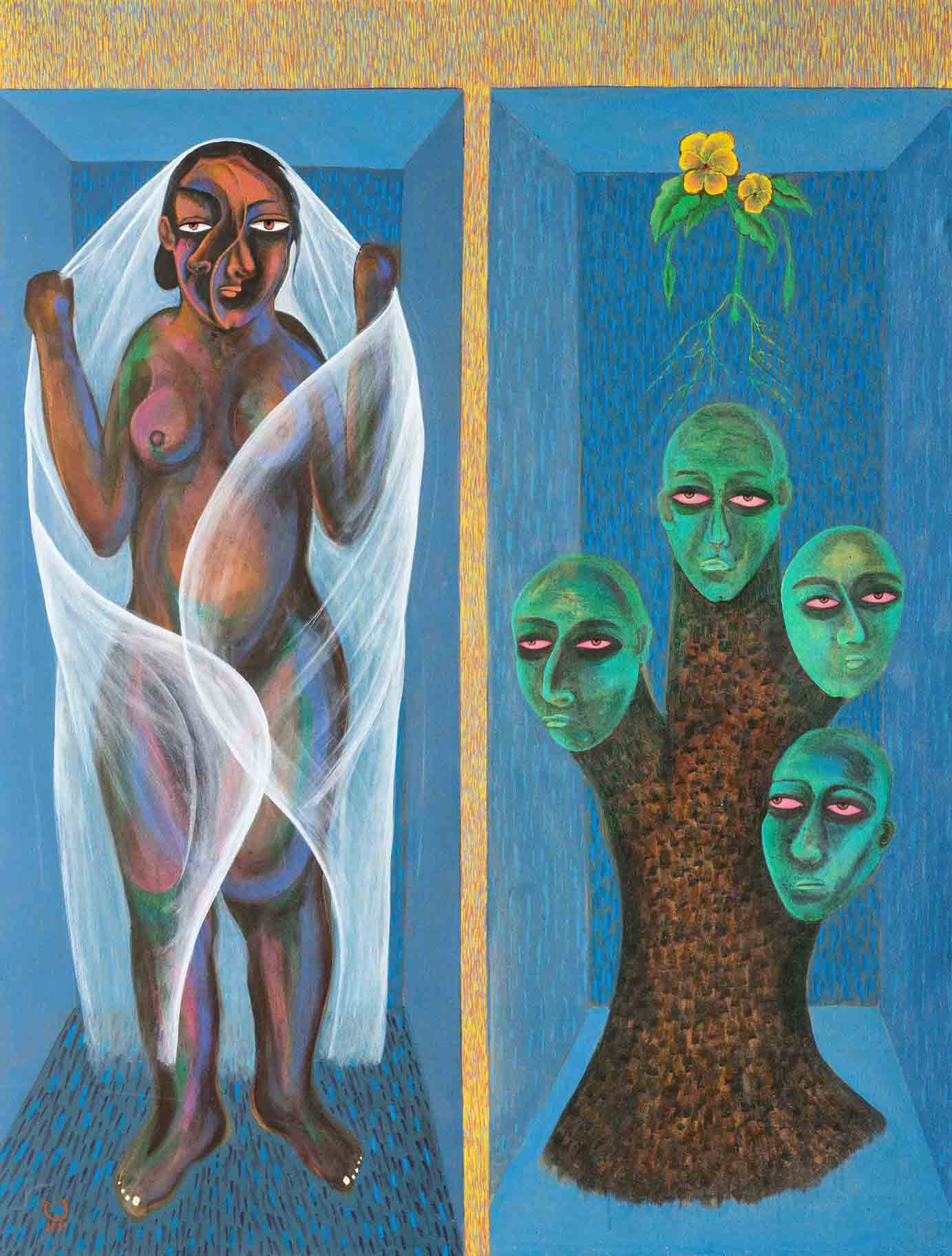 Souad Abd Elrasoul   2021  Eclectica Contemporary   Art Gallery   Cape Town  